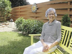 Christiansen creates retreat-like calm with her garden