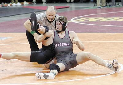 Mennis places second in 160-pound class