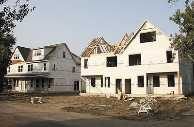 Construction restarts on N. Egan duplex project