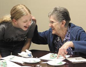 Art creates bond between generations