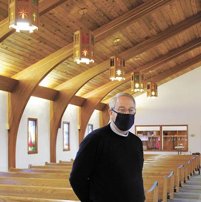 Light shines in darkness at Grace Lutheran Church