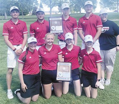 Flyers place second in both girls, boys division
