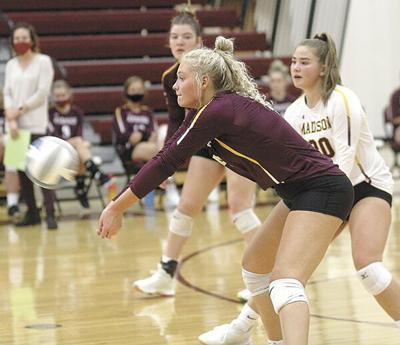 Brookings slips past Madison in five sets
