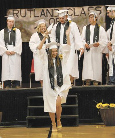 Rutland graduation celebrated with laughter