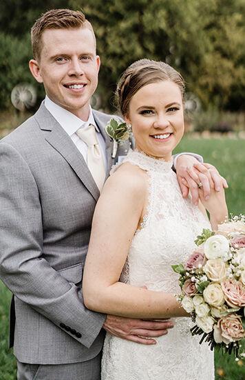 Simons, Larson say vows