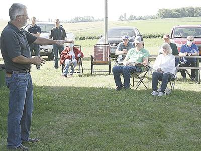 Stensland speaks about organic dairy farming