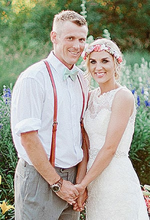 Protsch, Donahue wed