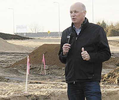 Infotech breaks ground in Lakeview Industrial Park