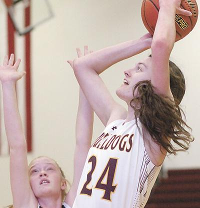Tanagers use big third quarter to down Lady Bulldogs