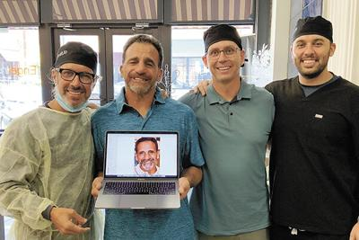 Keyes learns new surgical procedure at Engel Institute