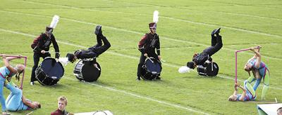 Band competes twice in one day