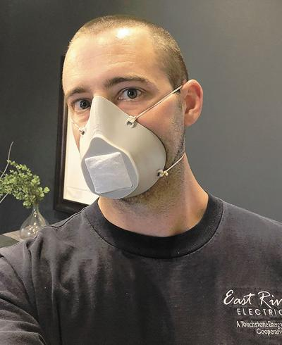 Local individuals, company address shortage of PPE