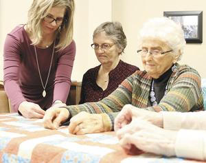 West Center Baptist celebrates quilting ministry