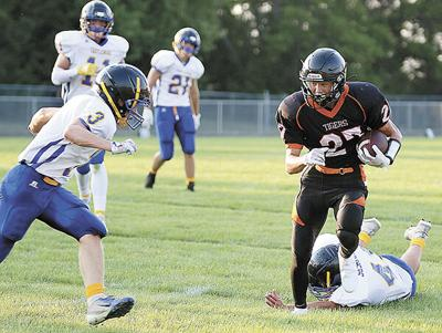 Tigers blank Castlewood 53-0 in season-opener