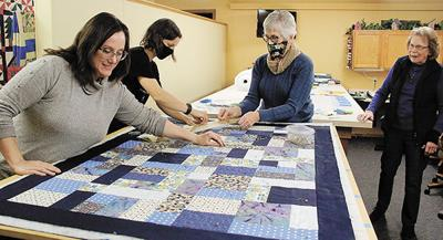 Gift of love expressed through quilt ministry