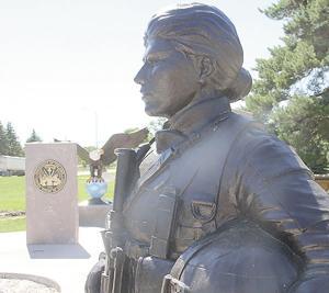 Veterans memorial erected on SD-34 in Colman