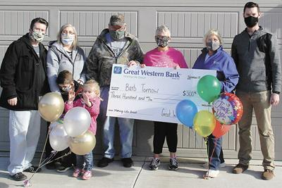 Local woman recognized for sewing masks in pandemic