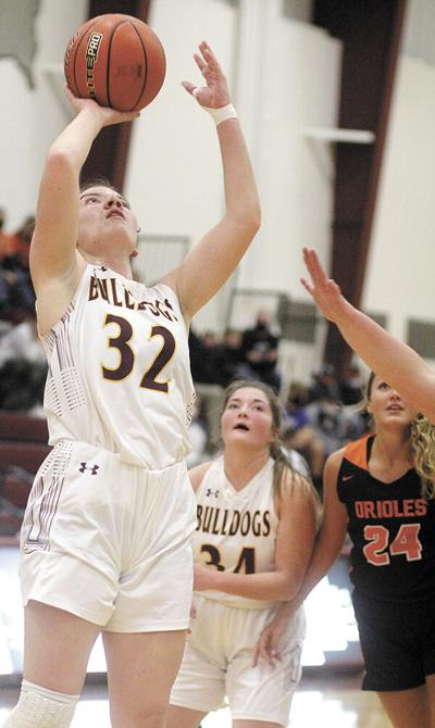 Late surge falls short for Lady Bulldogs