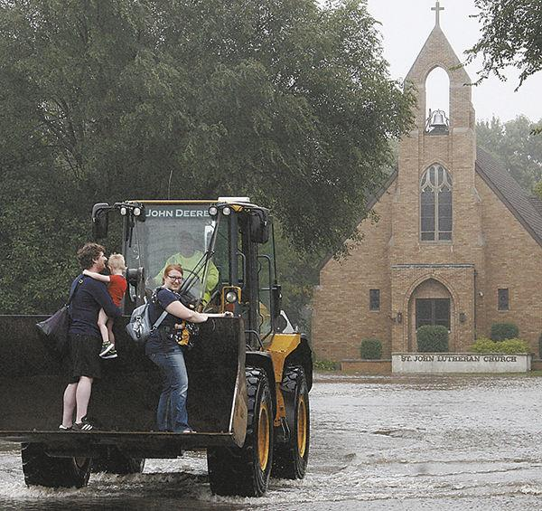 Storm hits Madison with flooding