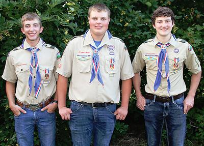Three Madison scouts finally awarded rank of Eagle Scout