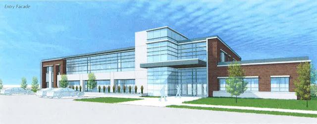 Proposed Bryan/University Health Center