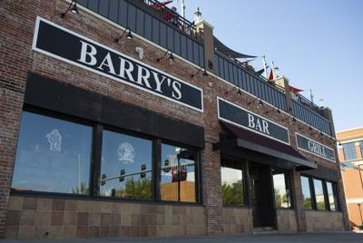 The facade of Barry's Bar and Grill