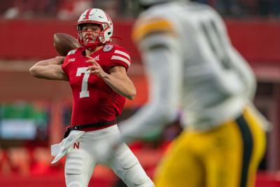 Nebraska Football vs. Iowa Photo No. 17