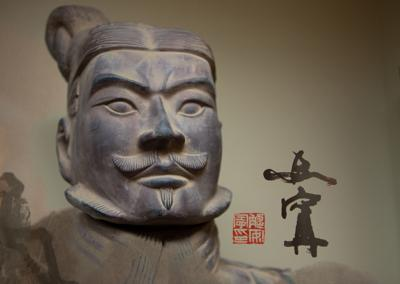 Statue in the Confucius Institute