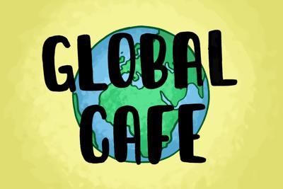 Global Cafe art by Grace Orwen