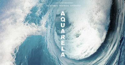 Aquarela is by Russian filmmaker Victor Kossakovsky