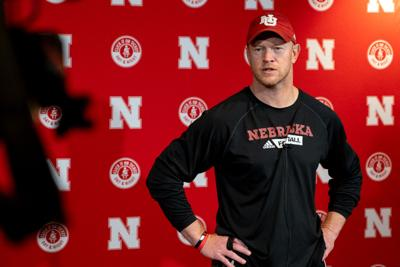 Scott Frost speaks with media