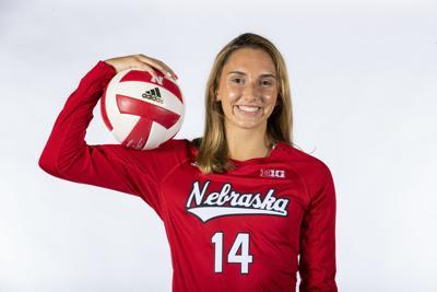 Nebraska VB Photo Shoot 2019 Nicole Drewnick