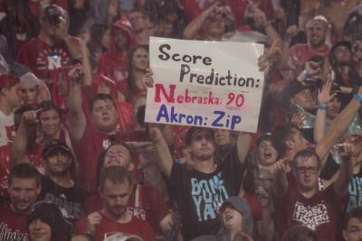 Cancelled game Nebraska vs. Akron