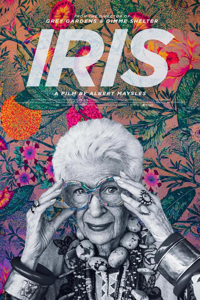 Kijk achter de schermen bij Iris Apfel in Iris 2014