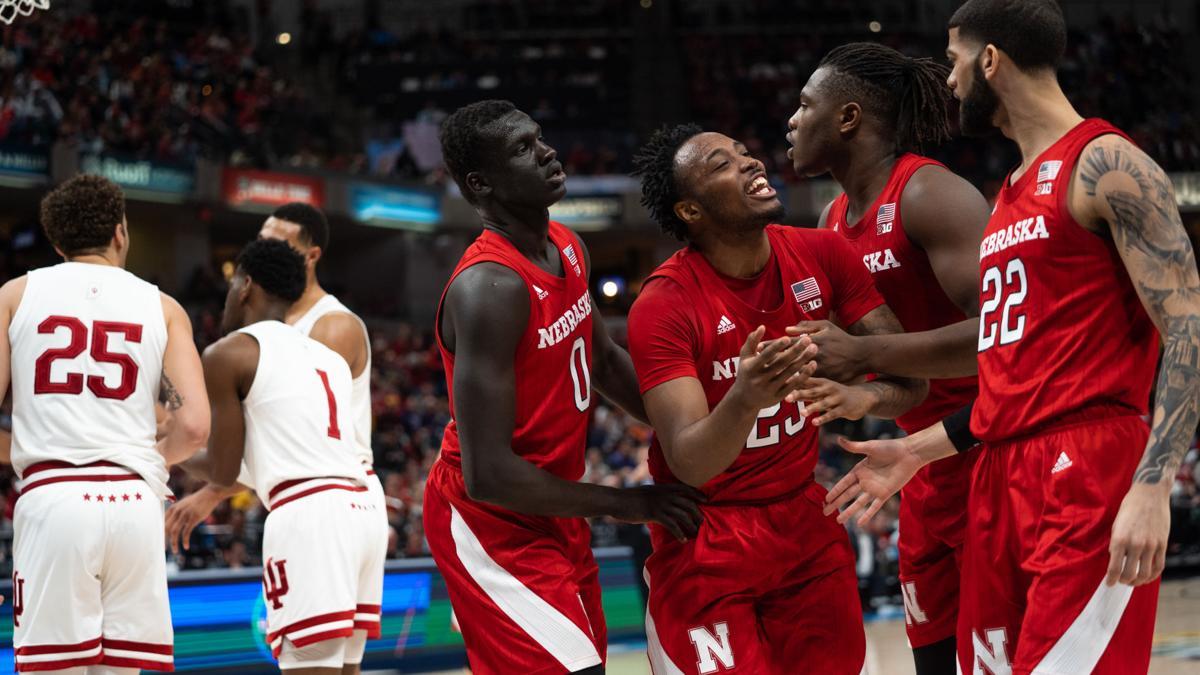 GALLERY: Nebraska Basketball falls to Indiana in first round of Big Ten tournament