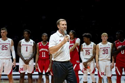 Fred Hoiberg Nebraska head basketball coach