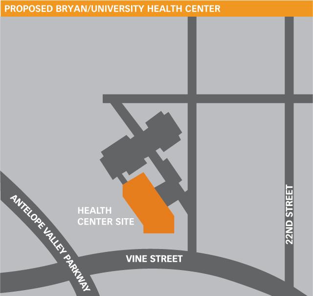 Proposed Health Center Location