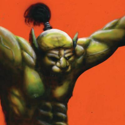 """Face Stabber"" Album Cover - Oh Sees"