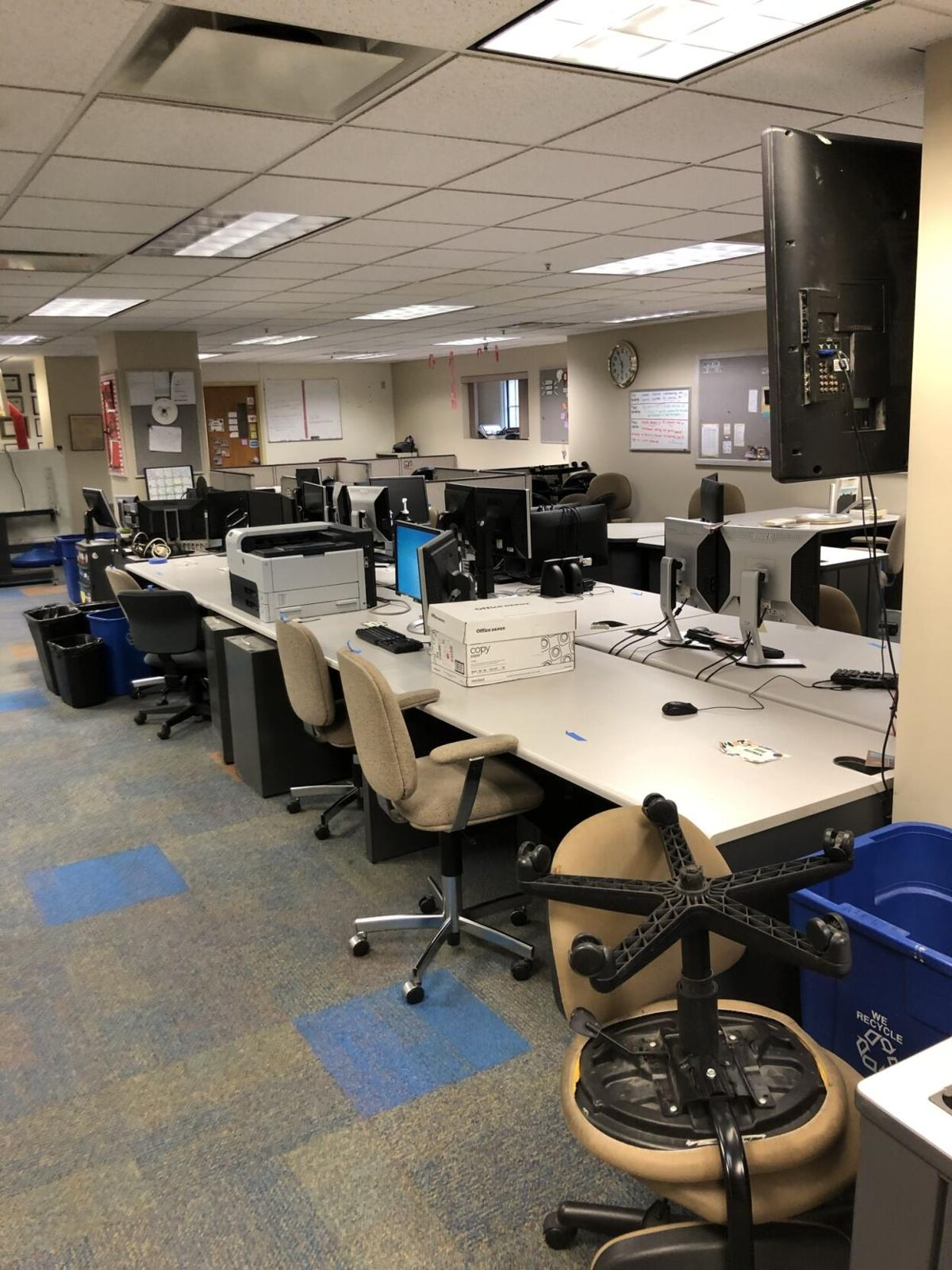 """The pandemic forced us to merge our copydesk and """"free space."""""""