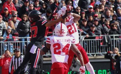 Football Ohio State Lamar Jackson Interception