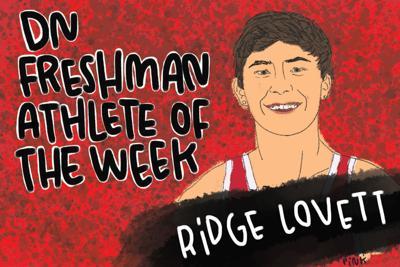DN Freshman Athlete of the Week Ridge Lovett art