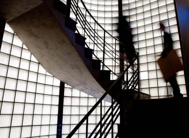Phi Delta Theta staircase