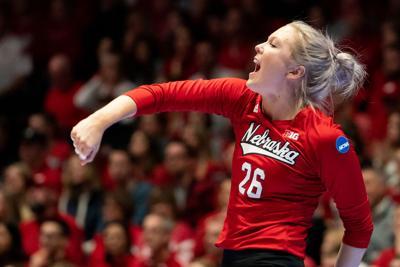 Nebraska Volleyball vs. Wisconsin Photo No. 14