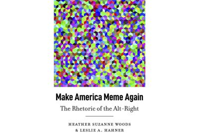 """Make America Meme Again"" Book Cover"