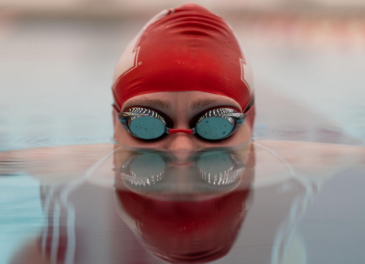Izzie Murray Swimming photo