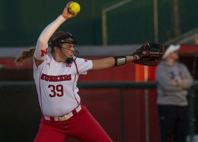 Husker softball shows good and bad in Iowa State test