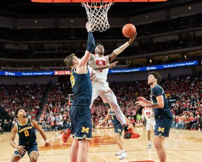 Nebraska Basketball vs. Michigan Photo No. 6