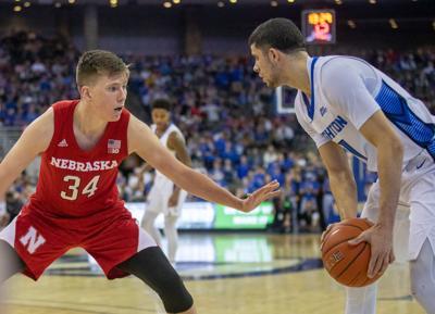 Nebraska Basketball vs. Creighton Photo No. 9