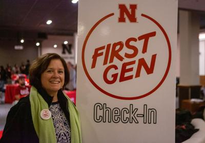 Cathy Gabell at First Gen Event