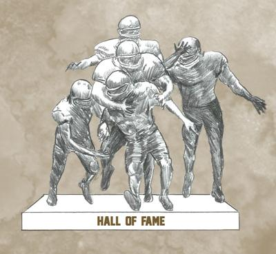 Nebraska Football Hall of Fame art